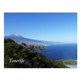 テネリフェ島かTeneriffa ポストカード