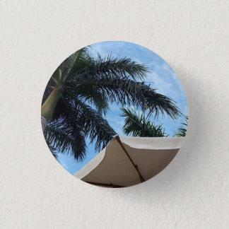 テネリフェ島のヤシの木ボタンのバッジ 缶バッジ