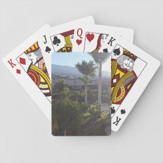 テネリフェ島の景色のトランプ トランプ