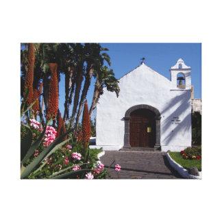 テネリフェ島教会キャンバスのプリント キャンバスプリント