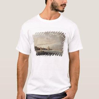 テムズからのロンドン、1809年の眺め Tシャツ