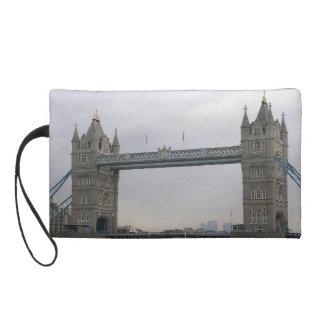 テムズ上のタワー橋が付いているBagettesのバッグ リストレット