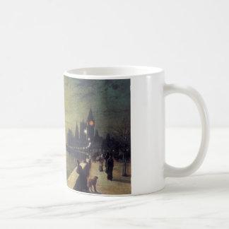テムズ、ジョン著ウエストミンスターの反射 コーヒーマグカップ