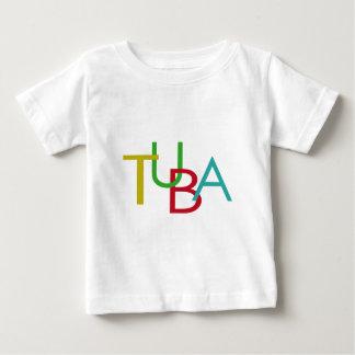 テューバの手紙 ベビーTシャツ