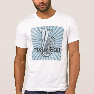 テューバの神のヴィンテージのTシャツ Tシャツ