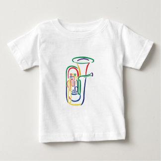 テューバの輪郭 ベビーTシャツ
