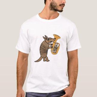 テューバのTシャツを遊んでいるBUのアルマジロ Tシャツ