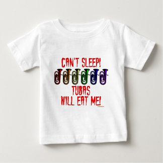 テューバは私を食べます ベビーTシャツ