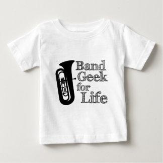 テューババンドギーク ベビーTシャツ