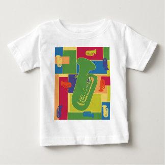 テューバColorblocks ベビーTシャツ