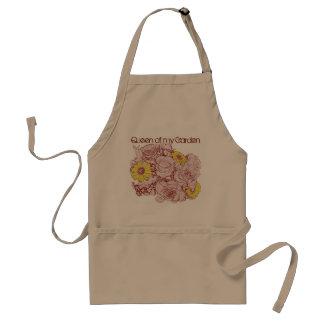 テラコッタは花束を研ぎました スタンダードエプロン