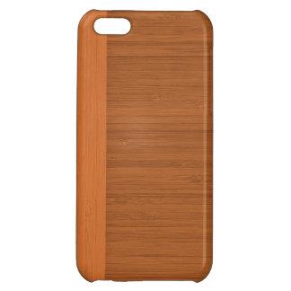 テラコッタ粘土のタケボーダー木製の穀物の一見 iPhone5C