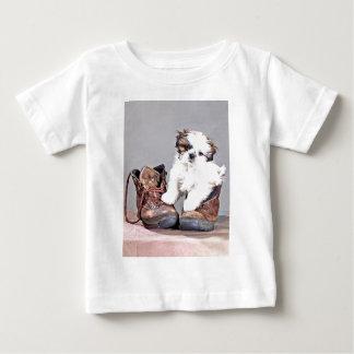 テリア ベビーTシャツ
