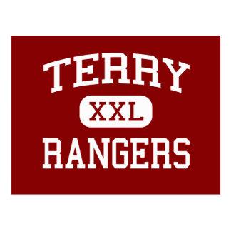 テリー-レーンジャー-高等学校- Rosenbergテキサス州 ポストカード