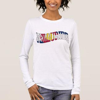 テルル化物のコロラド州の旗 長袖Tシャツ