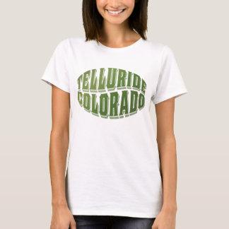 テルル化物の旧蔵本の緑のロゴ Tシャツ