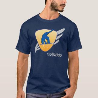 テルル化物の雪板盾 Tシャツ