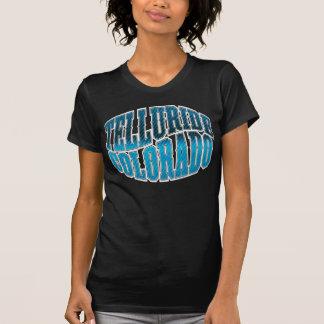 テルル化物の青いグランジ Tシャツ