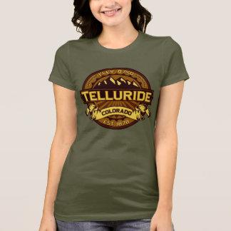 テルル化物の鮮やかなロゴ Tシャツ