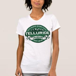 """テルル化物の""""コロラド州の緑""""のロゴ Tシャツ"""