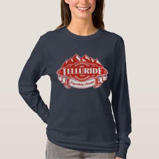 テルル化物山の紋章色 Tシャツ