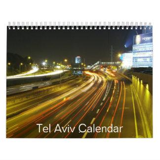 テル・アビブのカレンダー カレンダー