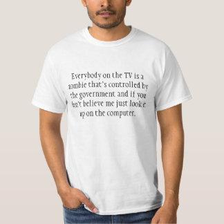 テレビのゾンビ! Tシャツ