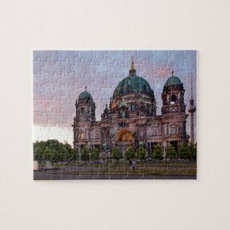 テレビのタワーおよびLustgarのベルリンのカテドラル ジグソーパズル