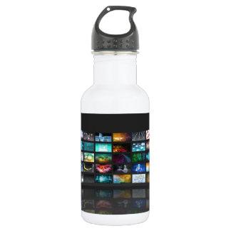 テレビの生産技術の概念 ウォーターボトル