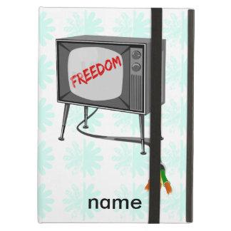 テレビの自由はコードを切りました iPad AIRケース