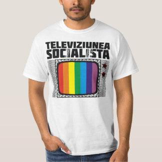 テレビのsocialista tシャツ