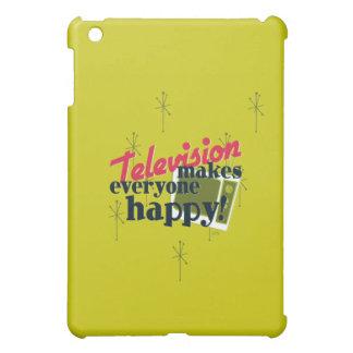テレビは皆を幸せにさせます! iPad MINI CASE