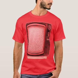 テレビ1 4つのTの赤 Tシャツ