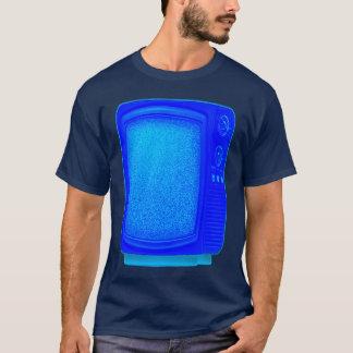 テレビ1 4つのTの青 Tシャツ