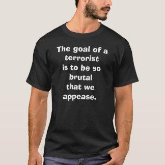 テロリストのゴール Tシャツ