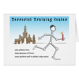 テロリストのトレーニングセンター カード