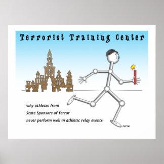 テロリストのトレーニングセンター ポスター