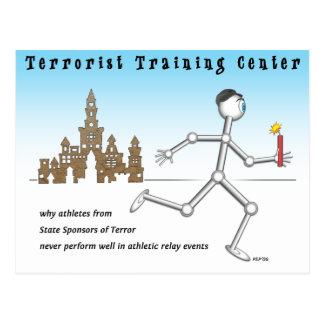 テロリストのトレーニングセンター ポストカード