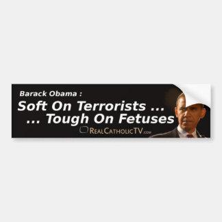 テロリストの柔らかさ… バンパーステッカー