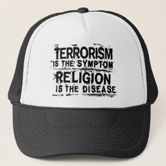 テロリズムは徴候…です キャップ