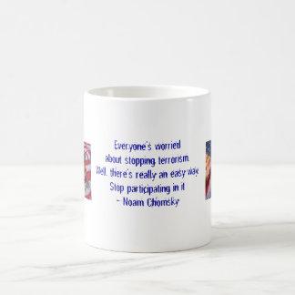 テロリズムをストップを心配している皆… コーヒーマグカップ