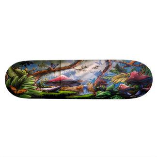 テングタケ属の滝-通りの芸術のスケートボードのデッキ スケートボード