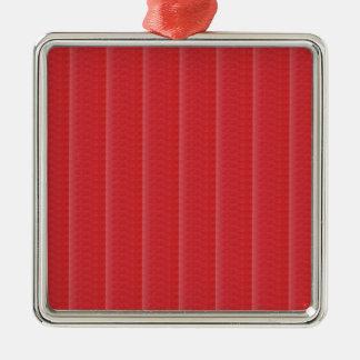テンプレートのザクロのフルーツ色DIY + 文字のイメージ メタルオーナメント