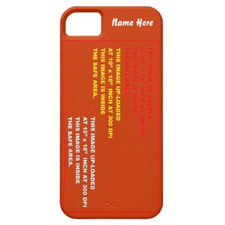 テンプレートの眺めのヒントを含む5つの30色に喜びます電話をかけて下さい iPhone SE/5/5s ケース