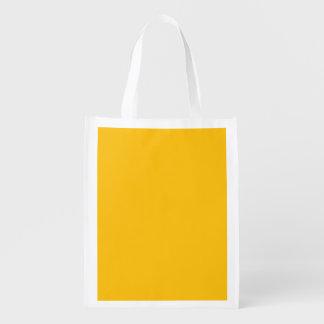 テンプレートの黄色 エコバッグ