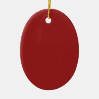 テンプレートは赤い陰を容易に加えます文字の写真を消します セラミックオーナメント