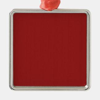テンプレートは赤い陰を容易に加えます文字の写真を消します メタルオーナメント