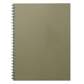 テンプレートは12の色の選択DIYあなたの文字のイメージを加えます ノートブック