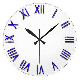 テンプレートはDAEからあなた自身の背景を加えます ラージ壁時計