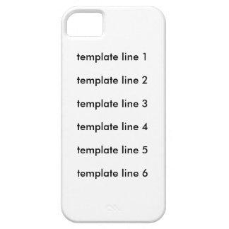 テンプレートラインテスト iPhone SE/5/5s ケース